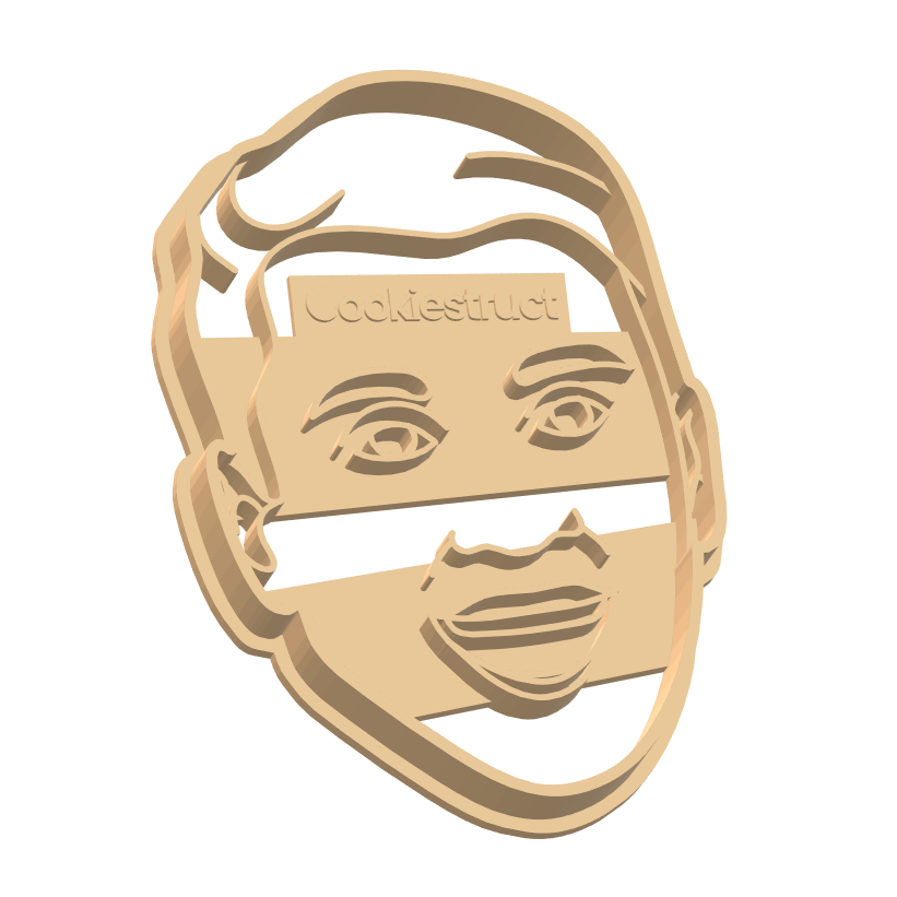 Custom Face Family Portrait Cookie Cutter