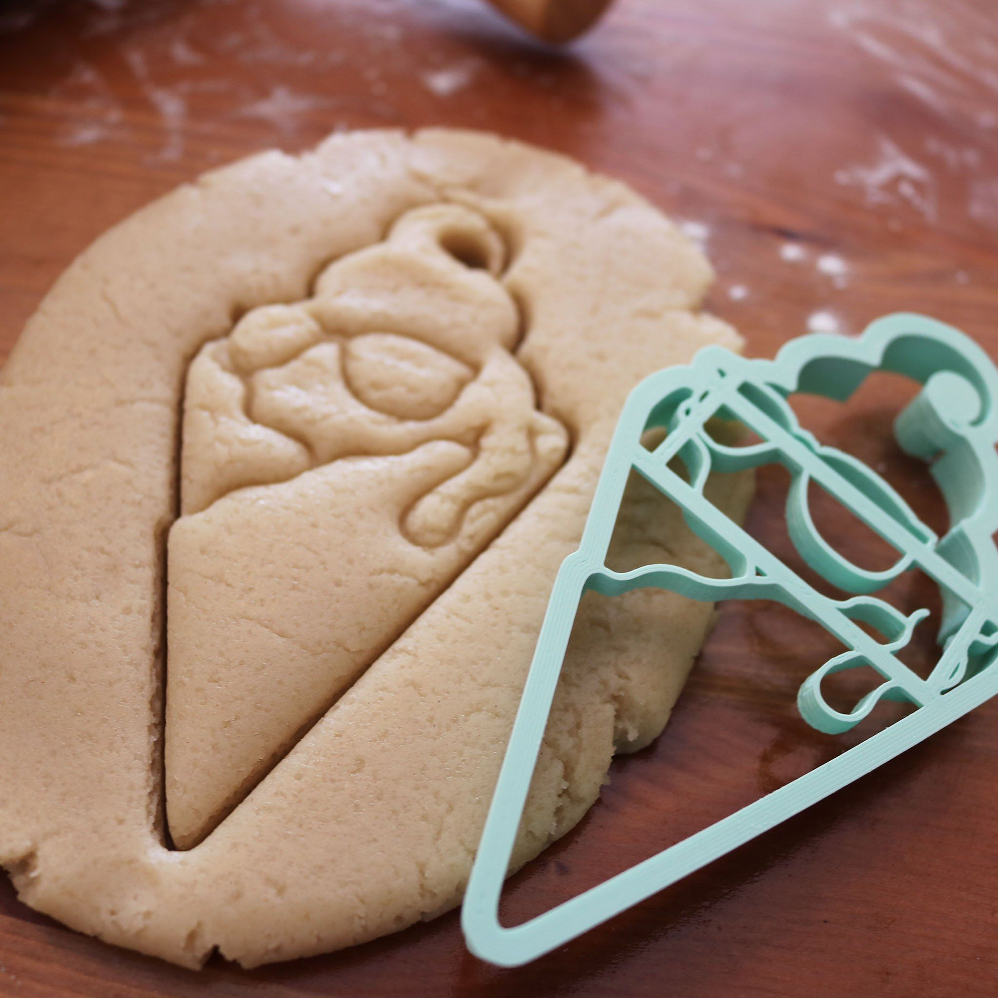 Fun Summer Ice Cream Cookie Cutter