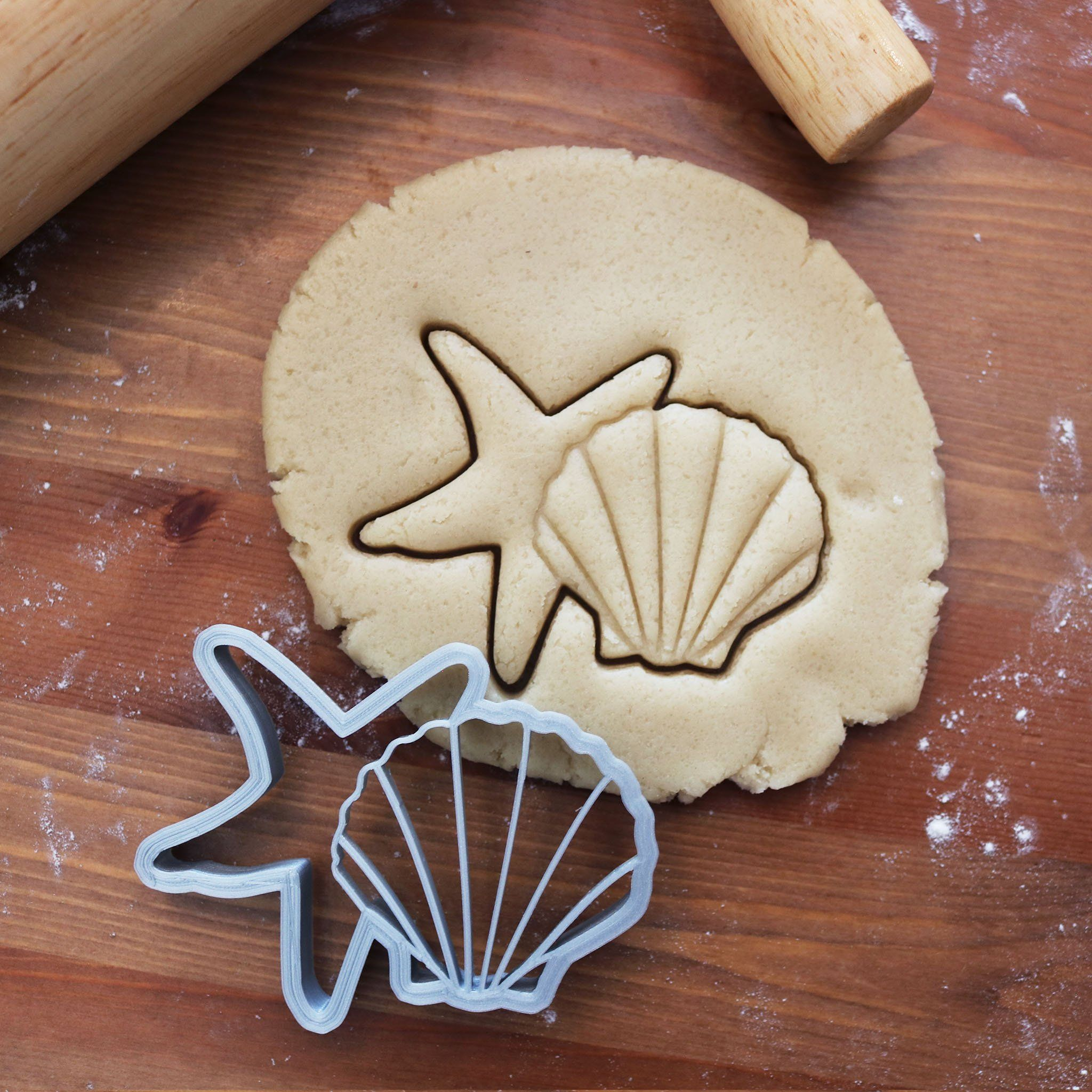 Summer Shell Starfish Cookie Cutter