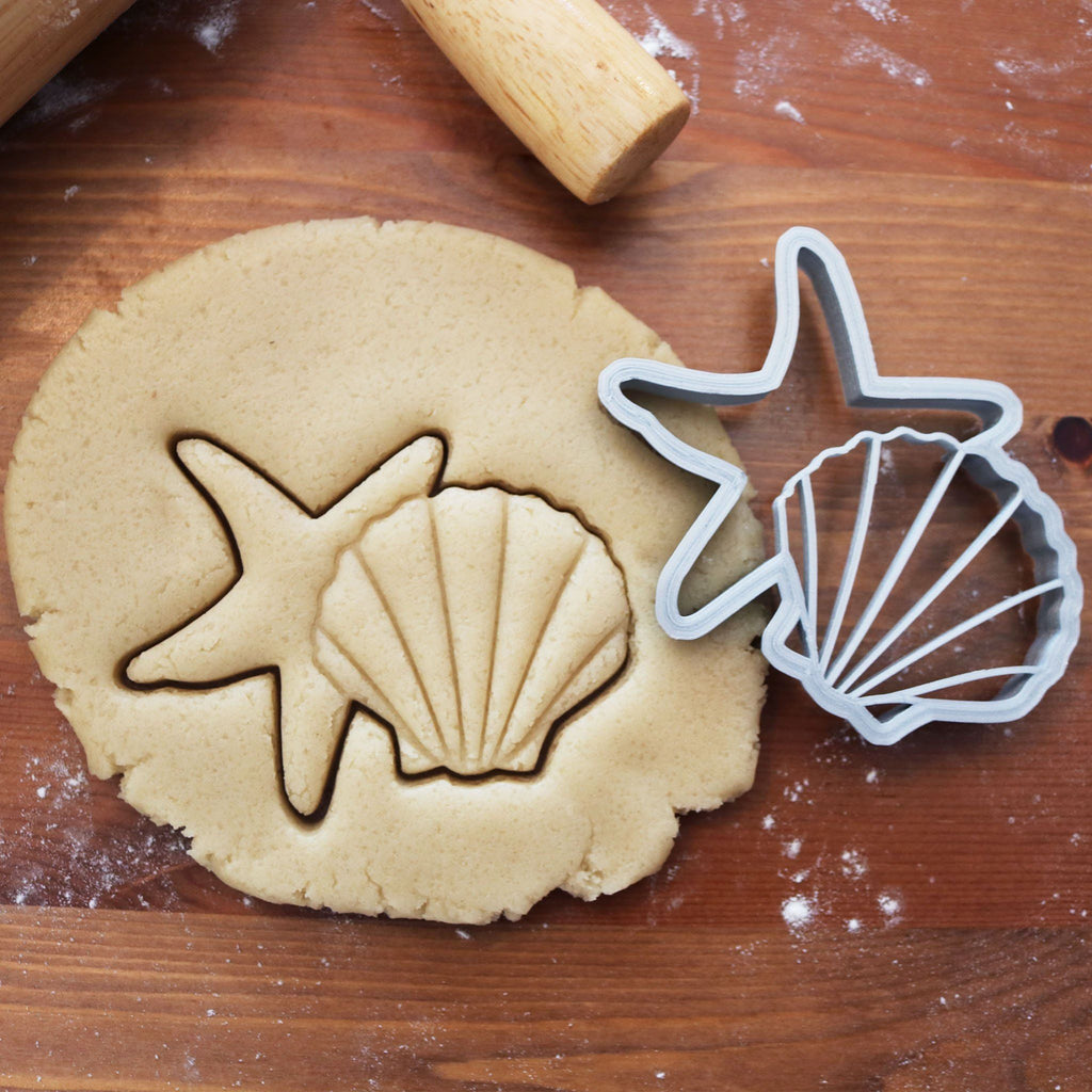 Shell and Starfish Cookie Cutter