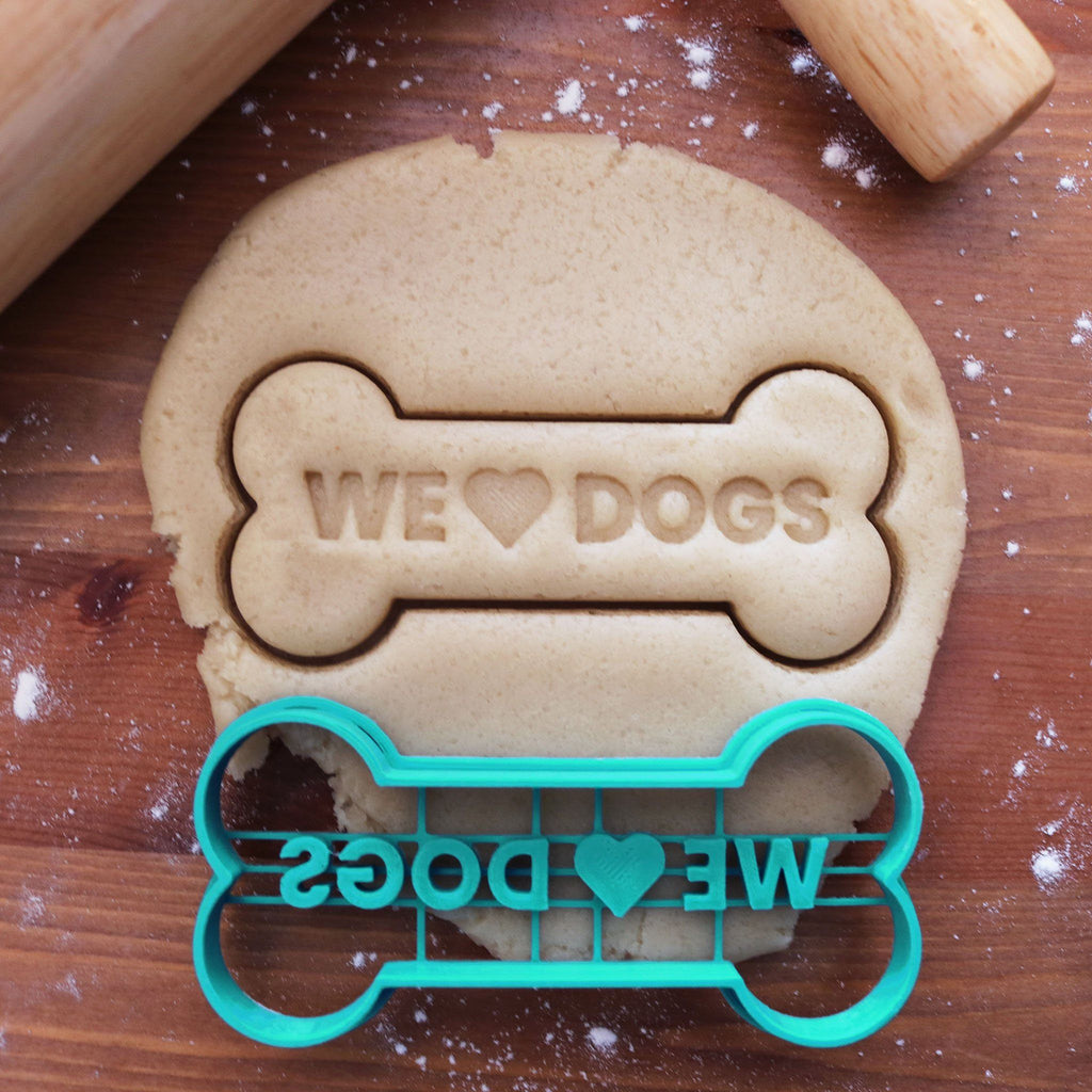 We Love Dogs Cookie Cutter