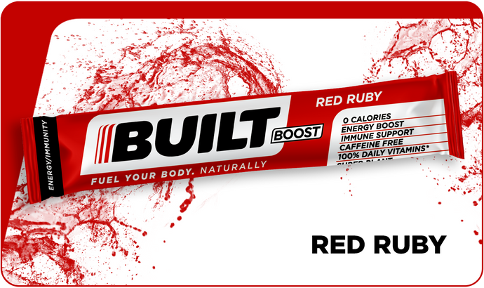Built Boost Red Ruby (18ct Bag)