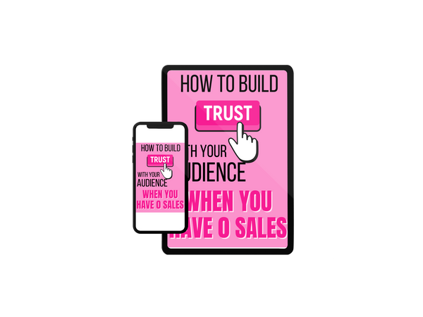 Build Trust With 0 Sales eBook