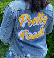 Pretty Poodle Denim Jacket