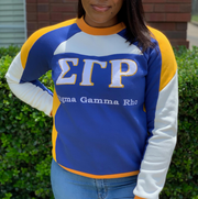 SGRHO Retro Color Block Crewneck