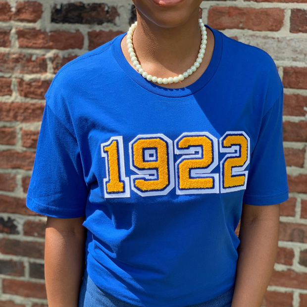 Royal Blue 1922 Tee (Unisex)