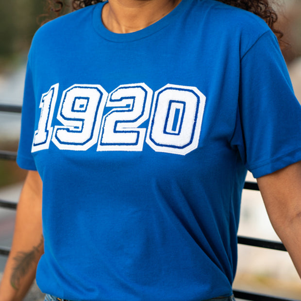 Royal Blue 1920 Tee (Unisex)