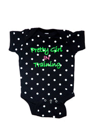 Pretty Girl In Training Onesie