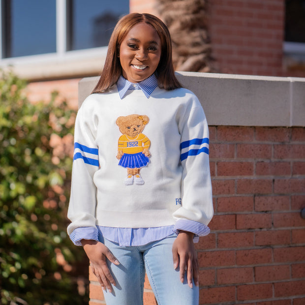 Preppy SGRHO Bear Sweater