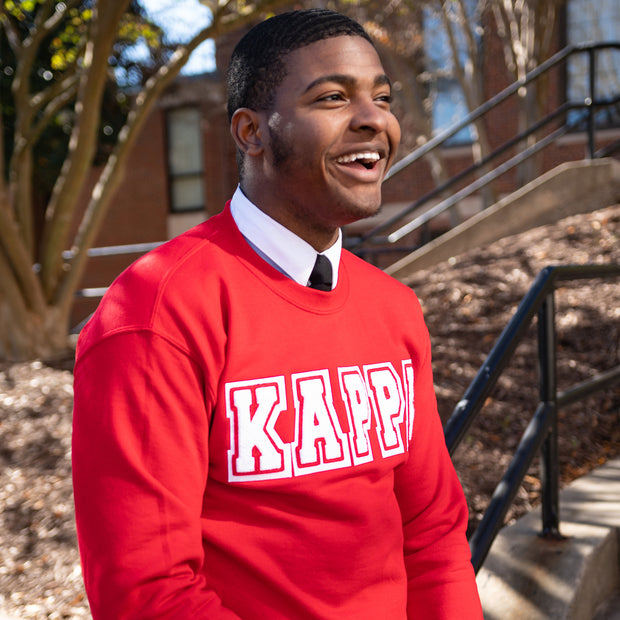 Red Kappa Sweatshirt
