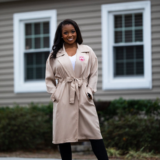 Tan Lightweight Trench