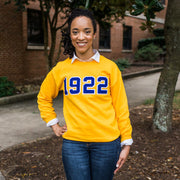 Gold 1922 Sweatshirt (unisex sizing)