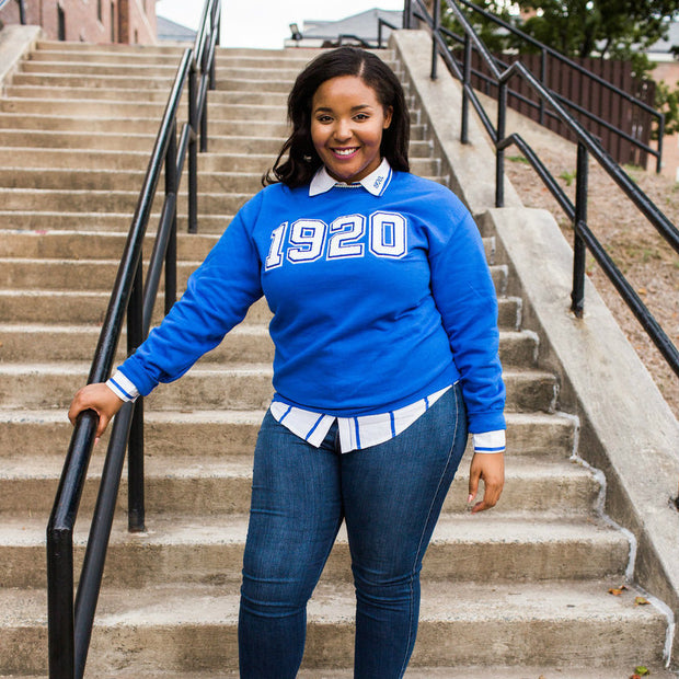 Blue 1920 Sweatshirt (unisex sizing)