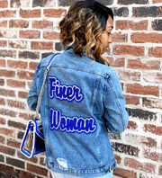 Finer Woman Denim Jacket