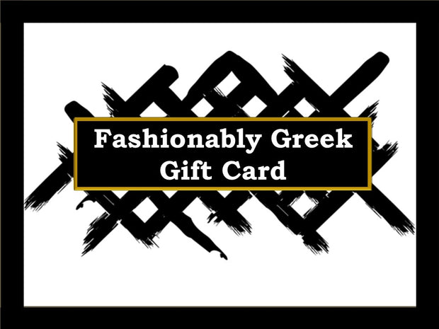 Fashionably Greek Gift Card