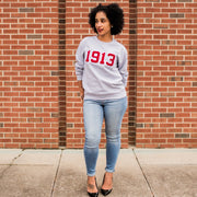 Grey 1913 Sweatshirt (Unisex Sizing)