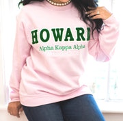 Homage Collection: Pink HOWARD Sweatshirt (Unisex Sizing)