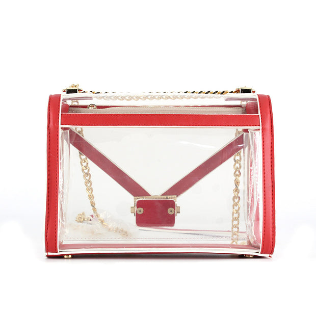 DST Clear Shoulder Bag