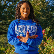 Royal Blue Legacy Sweatshirt (Unisex Sizing)