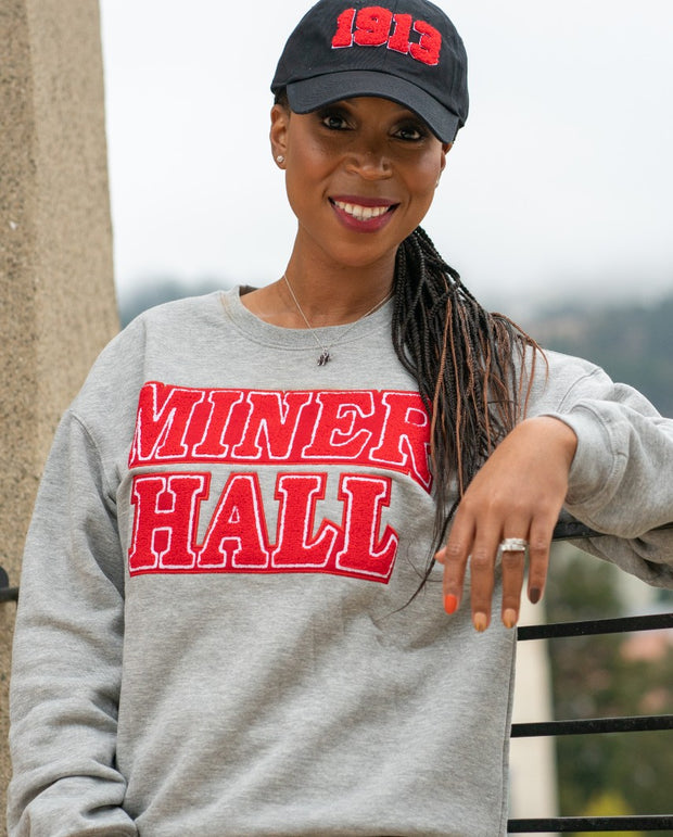 DST GREY MINER Hall Sweatshirt (Unisex Sizing)