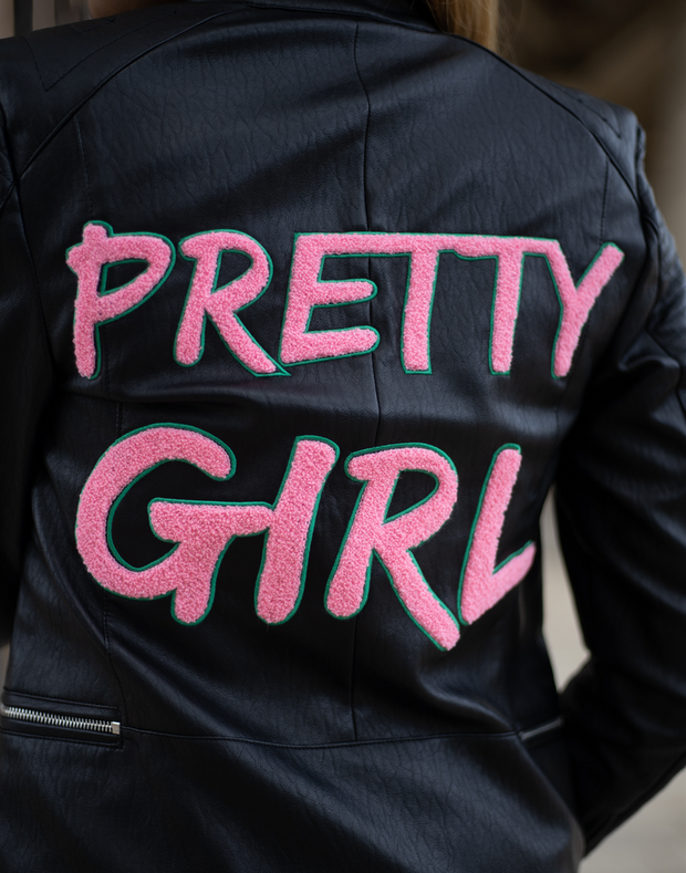 Pretty Girl Biker Jacket