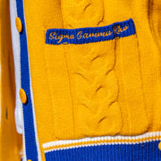 SGRHO Cable Knit Cardigan