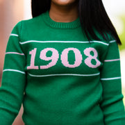 Green 1908 Retro Sweater
