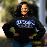 ZPhiB Black HOWARD Sweatshirt (Unisex Sizing)