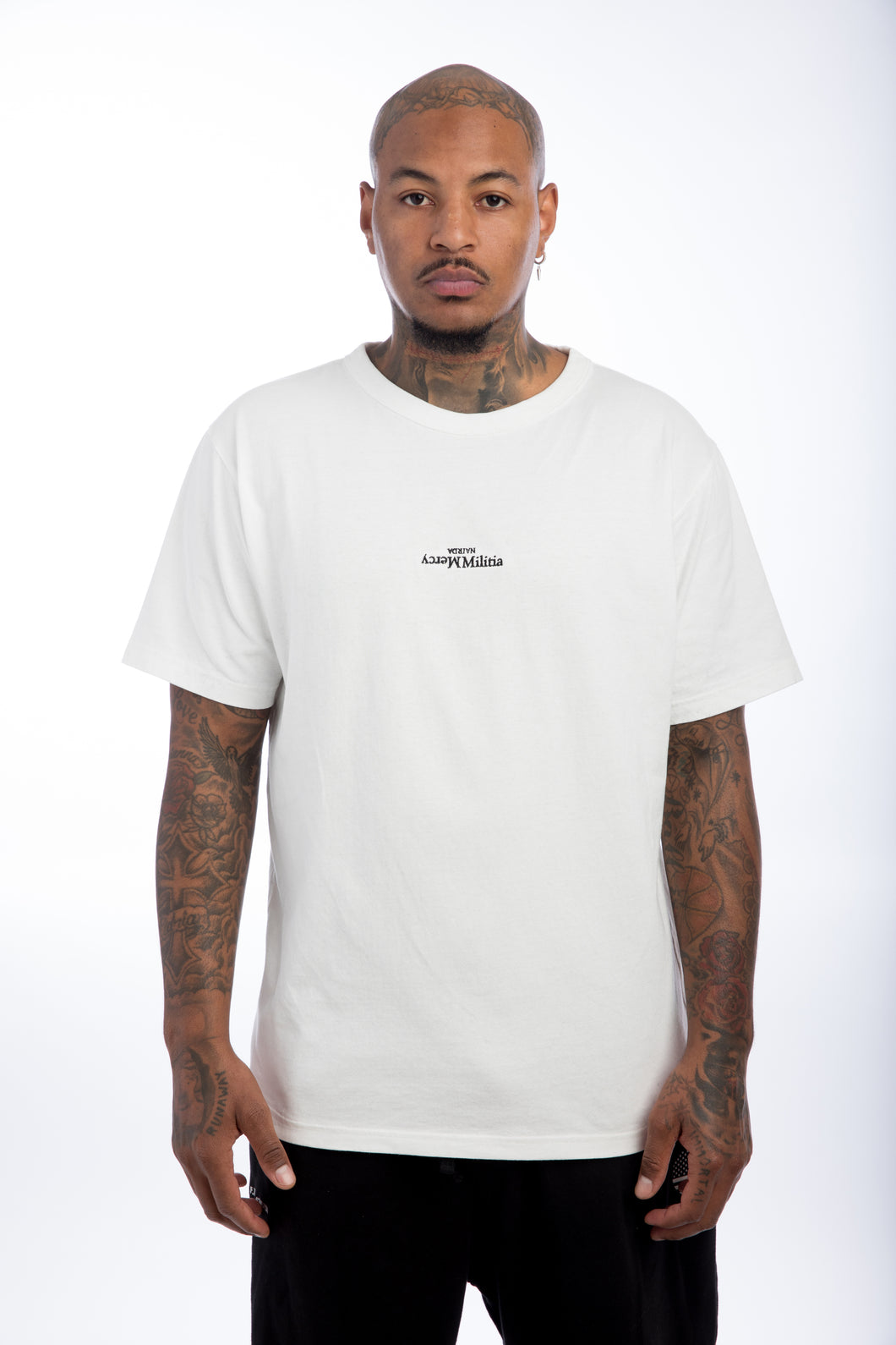 Mercy Militia White S/S Shirt