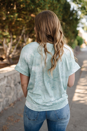Calm Seas Twist Front Top