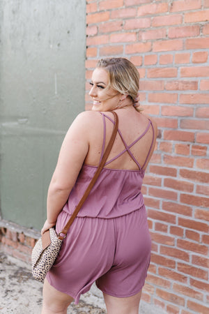 Mainstream-Mauve Summer Romper