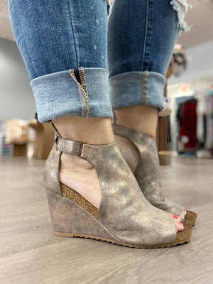 Sunburst Wedges-Bronze