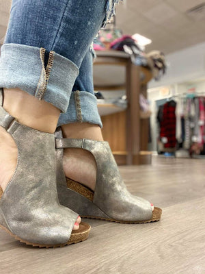 Sunburst Wedges- Pewter