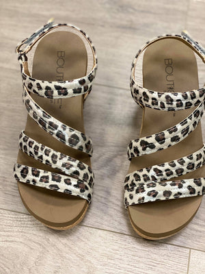 Boutique by Corkys - Lifeguard Wedge Sandals in Leopard