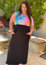 Load image into Gallery viewer, Somewhere Over The Rainbow Maxi Dress
