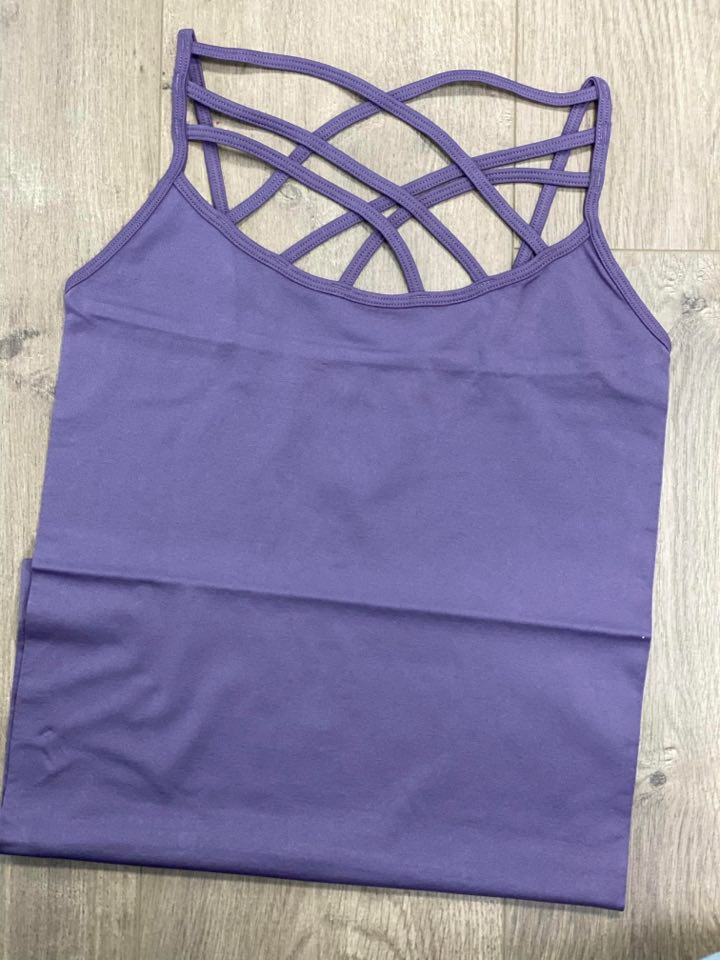 TRIPLE CRISS-CROSS CAMI