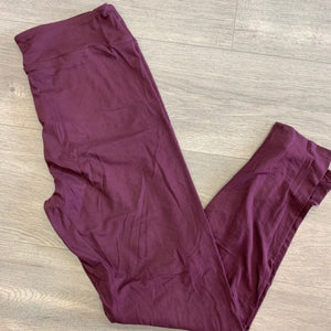 Burgundy Leggings