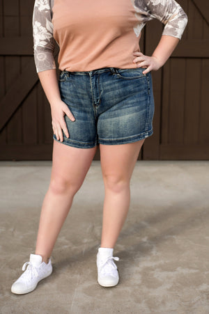 High Stepping Judy Blue Shorts