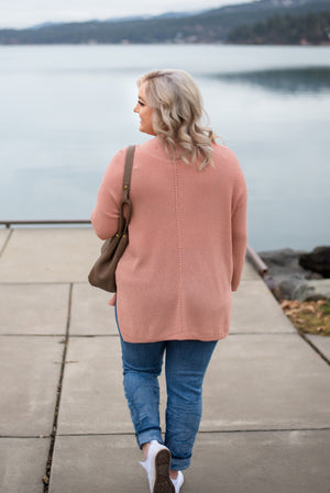 Find Your Groove Sweater In Gorgeous Mauve