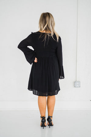 Made For You Embroidered Dress