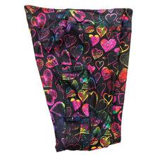 Load image into Gallery viewer, Doodle Hearts full length legging with pockets