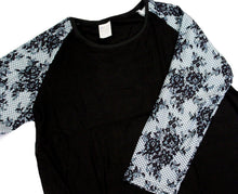 Load image into Gallery viewer, Whimsies brand lace print raglan