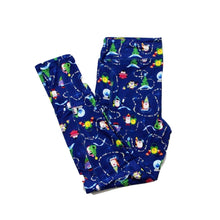 Load image into Gallery viewer, Holiday Penguins full length legging with pockets