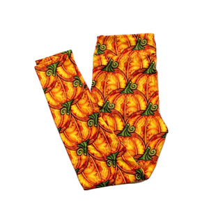 Elegant Pumpkins full length legging NO pockets