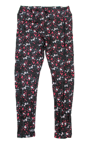 Pink and Pinker full length legging with pockets