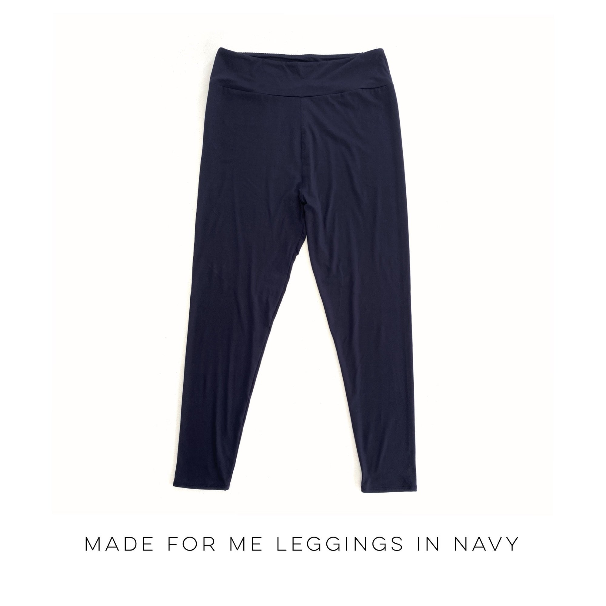 Made for Me Leggings in Navy