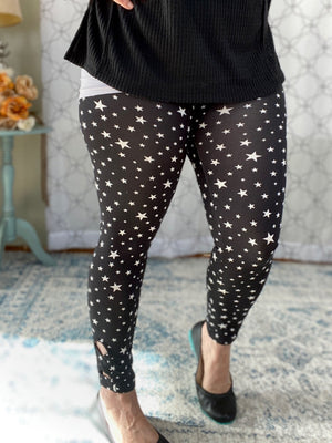 First Star to the Right Leggings