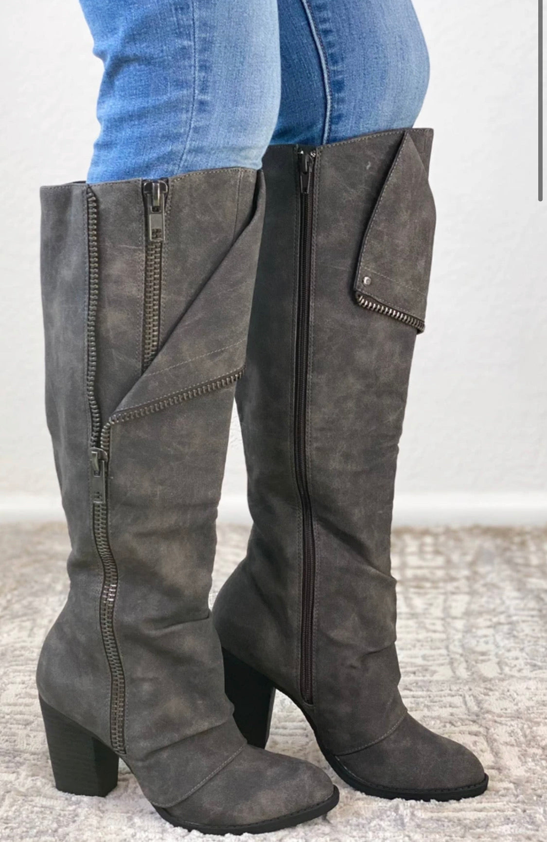 Not Rated Valda Boot in Grey