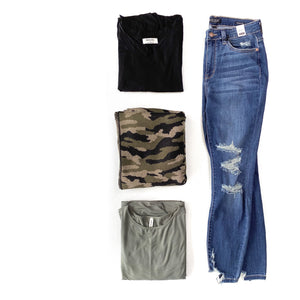 Under The Boardwalk Judy Blue Cropped Jeans