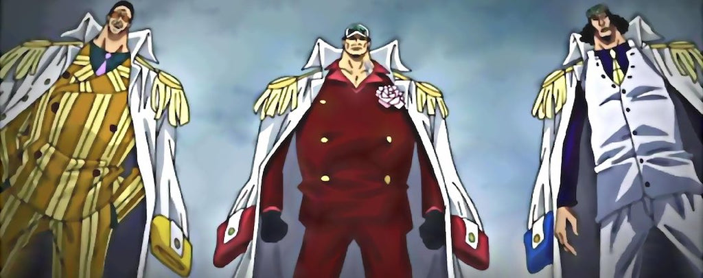 TOP 10 : Les plus puissants Marines de One Piece